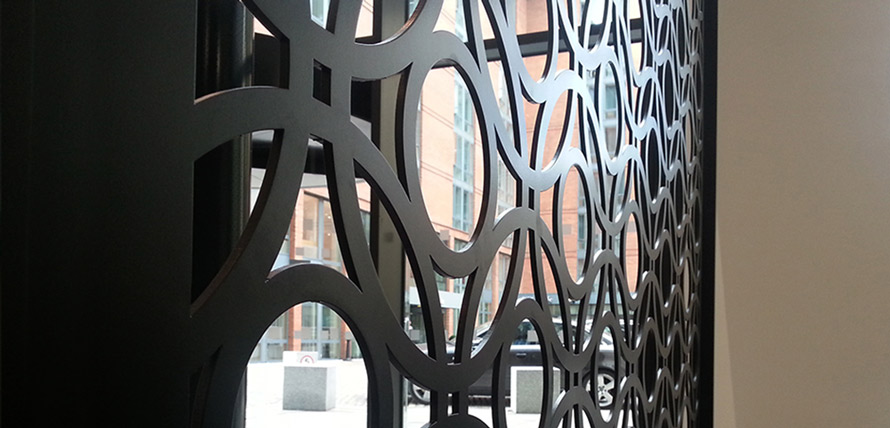 Beautiful laser cut pattern designs for screens and room partitions