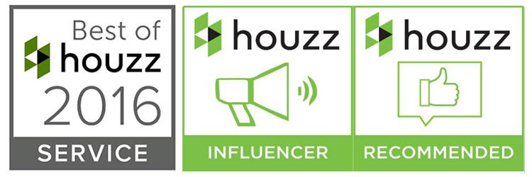 Houzz award winner and influencer