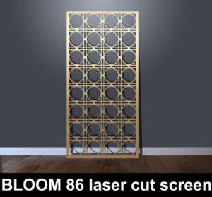 BLOOM 86 laser cut fretwork screens and decorative fretwork panels
