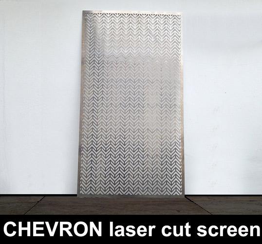 Chevron Laser Cut Metal Screens Laser Cut Screens For