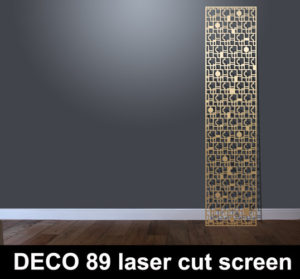 art deco laser cut screens and decorative panels