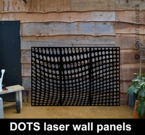 bespoke wall panels laser cut