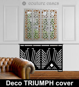 Deco TRIUMPH laser cut radiator covers