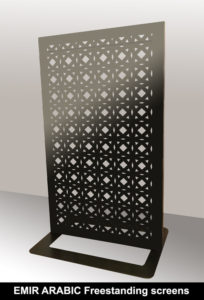 EMIR arabic and moroccan fretwork screens.