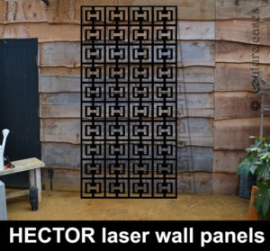 Hector laser-cut-metal-panels and decorative screens
