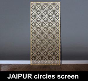 JAIPUR laser cut metal screens for architectural interiors