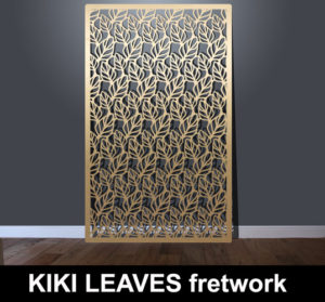 KIKI LEAVES fretwork laser cut screens and perforated panels