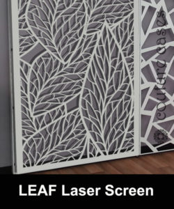 Architectural wall panels for display