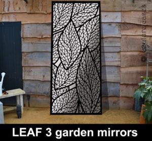 Custom made wall mirrors and garden mirrors