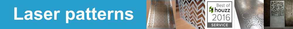 Custom made fretwork panels