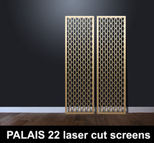 PALAIS 22 hexagonal laser cut panels