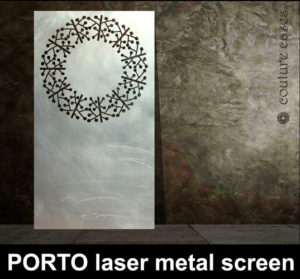 PORTO Laser cut metal panels