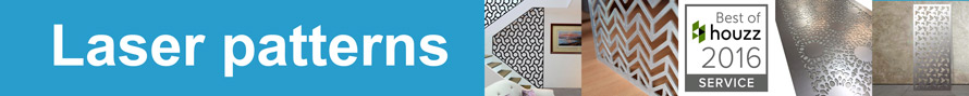 patterns and designs for all laser cut metal styles