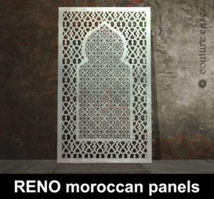 Moroccan laser cut metal screens