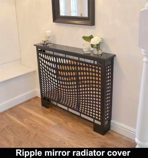 Ripple Mirror Radiator Covers For Modern Homes  U2013 Laser Cut