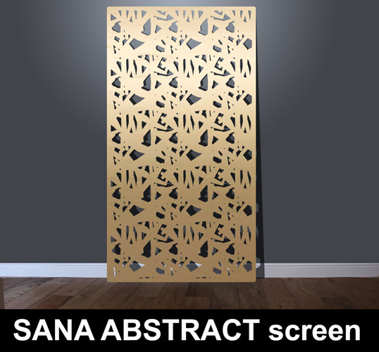 Sana Abstract Laser Cut Architectural Fretwork Screens