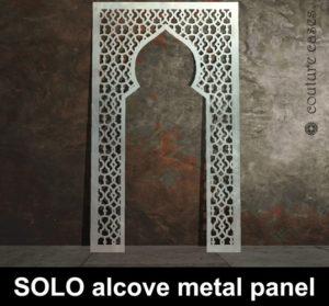 SOLO Moroccan laser cut metal alcove panels