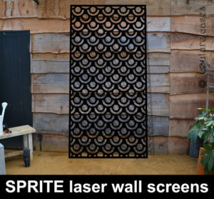 SPRITE laser cut screens and wall panels for commercial interiors