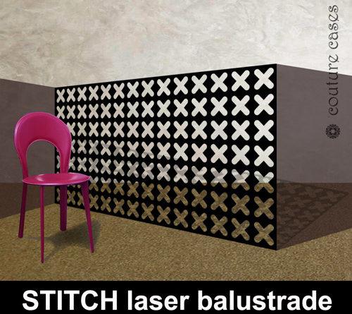 STITCH laser cut metal balustrades in modern architectural designs
