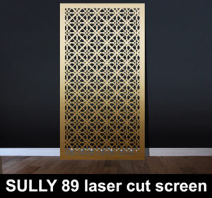 SULLY 89 laser cut metal screens for modern interiors