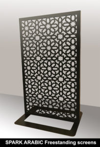 Spark arabic and moroccan fretwork screens