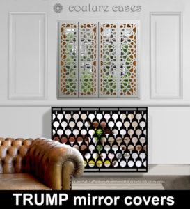 Modern mirror radiator covers