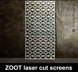 ZOOT laser cut panels custom made