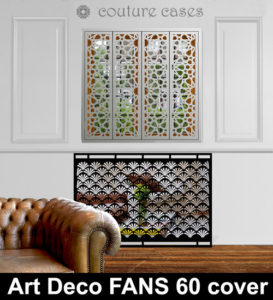 Art Deco FANS 60 mirrored radiator covers and decorative screens
