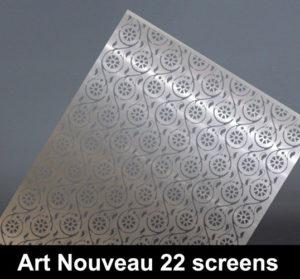 art nouveau 22 laser cut panels for modern homes and interiors