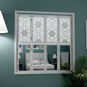 mirror window shutters in classic design