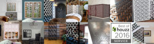 architectural wall panels and laser cut screens