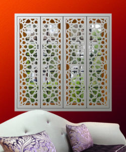 islamic and moroccan window shutters