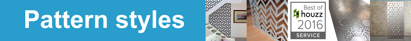 laser cut metal patterns and styles