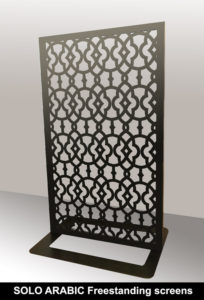 SOLO arabic and moroccan fretwork screens