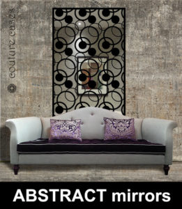 Absract modern wall mirrors