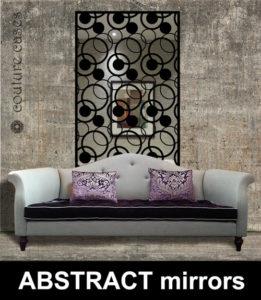 Absract modern wall mirrors