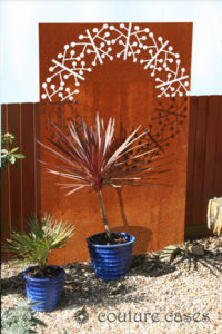 CIRCLE ABSTRACT laser cut garden panels