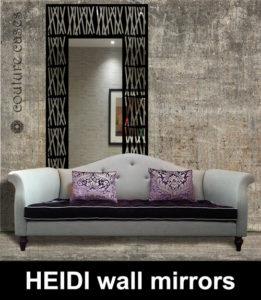 HEIDI decorative wall mirrors