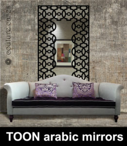 TOON Arabic wall mirrors for modern interiors