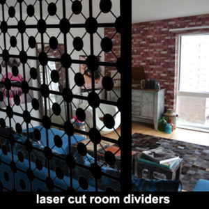 Room divider screens and room partitions