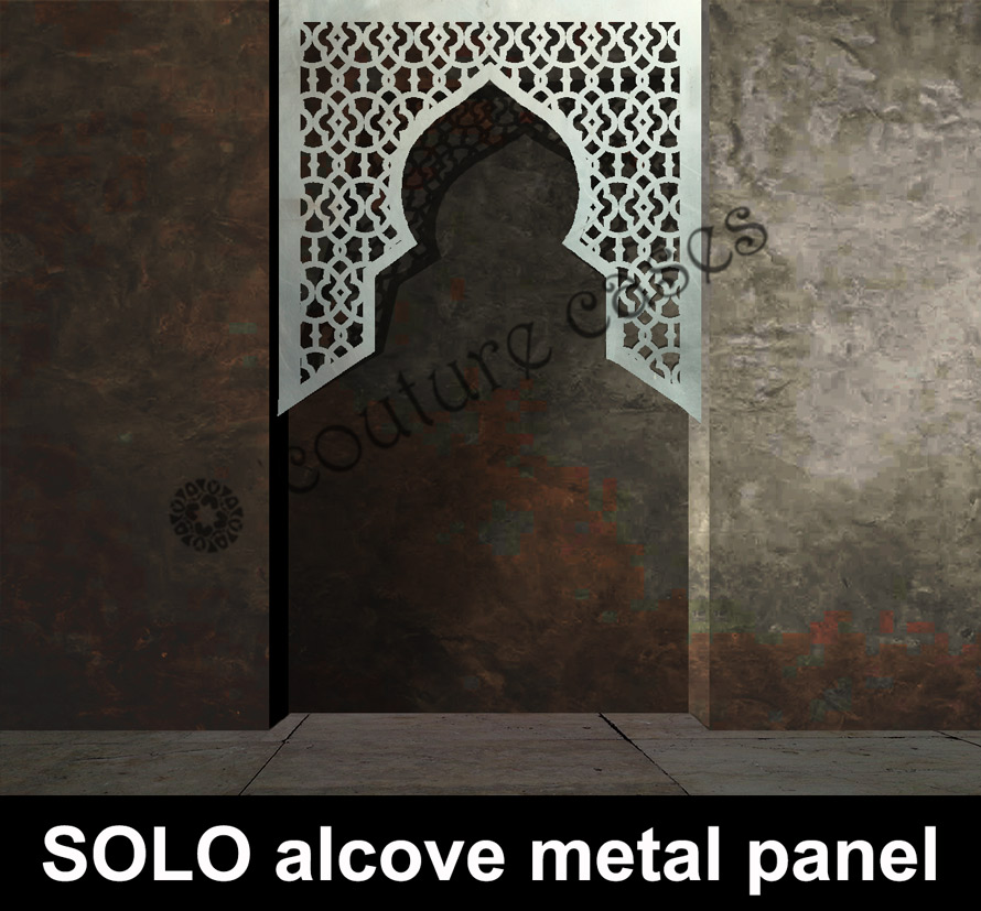 SOLO Moroccan alcove screens