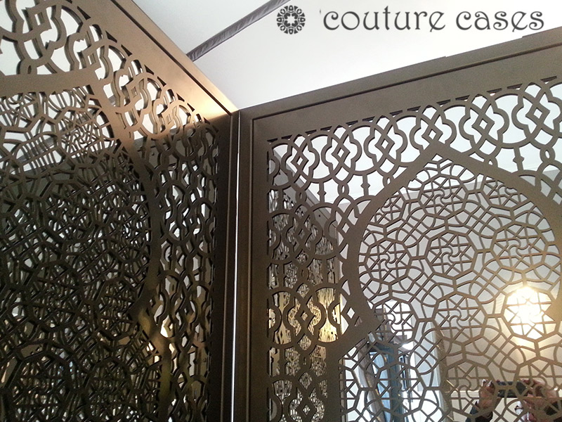 arabic minaret freestanding mirror screen partitions