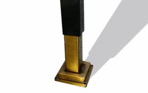 Bespoke brass plated decorative screen accessories