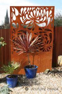 HYDRA Corten garden screens for modern gardens