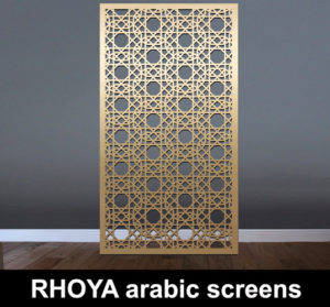 RHOYA arabic decorative panels