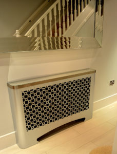 Arabic hallway radiator covers in KHAN arabic design