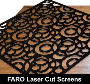 FARO 3D Screen in satin black