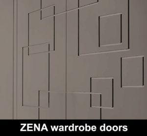 ZENA 3D MDF wardrode doors custom made
