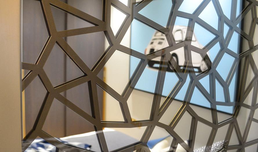 Mirror Walls With Custom Fretwork Patterns I Custom Designs