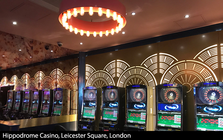 Hippodrome casino london laser cut metal screens